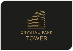 "Advertising campaign of ""Crystal Park Tower"""
