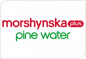 "Advertising campaign of ""Morshinska plus Pine Water"""